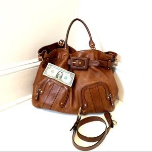Cole Haan Large brown leather bag